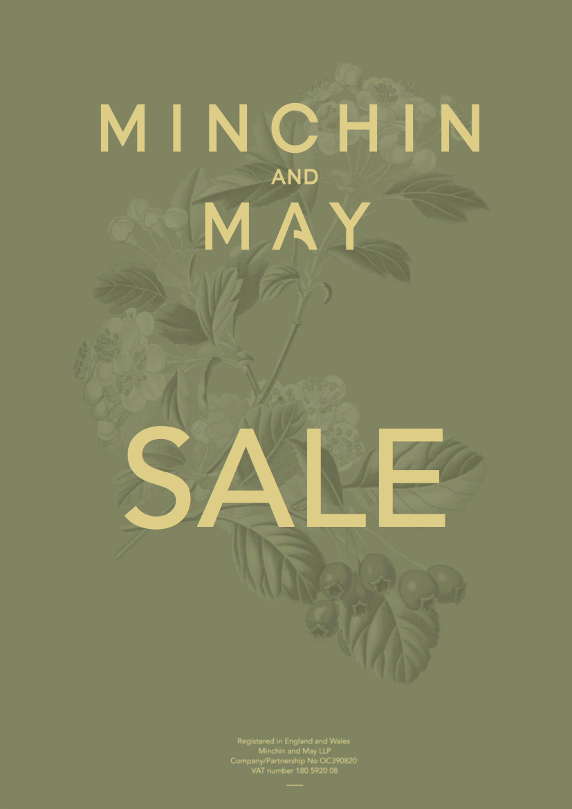 SALE on Minchin and May Background
