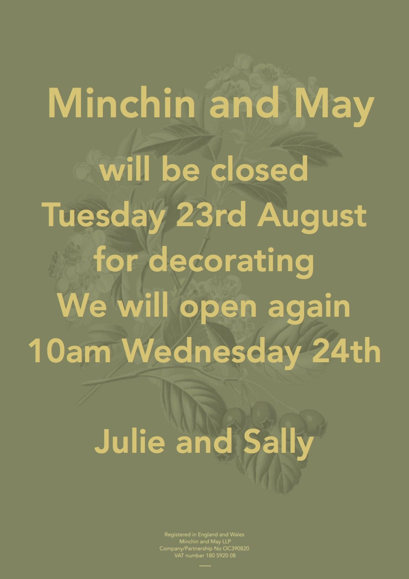 Closed Tuesday 24th
